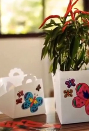 KIPUL folding flowerpot
